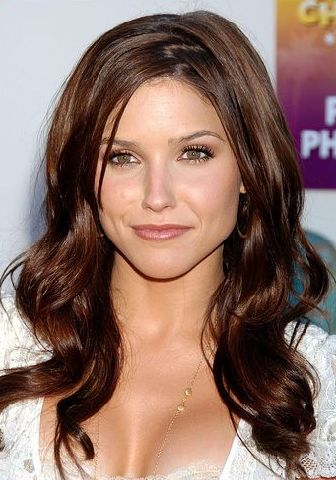 brunette-hair-color. First, for those who don't know, she has hot golden