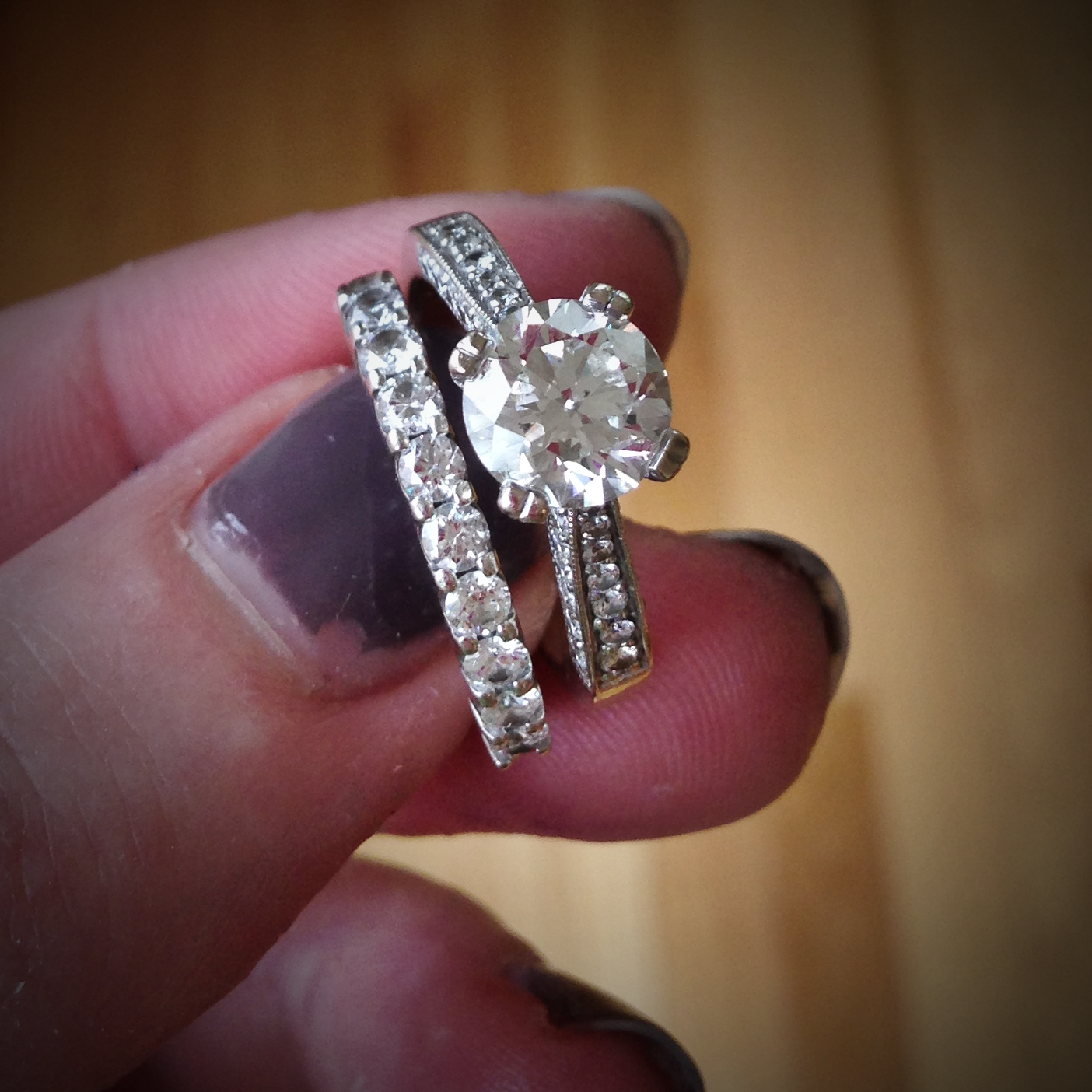 Fake Wedding Bands